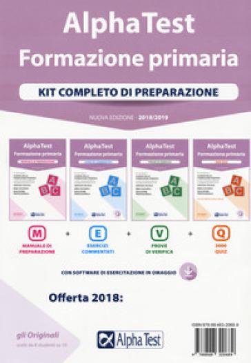 Alpha Test. Formazione primaria. Kit completo di preparazione. Con Contenuto digitale per download e accesso on line - Fausto Lanzoni |