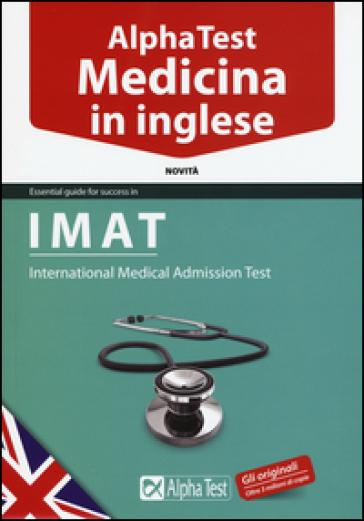 Alpha test medicina in inglese imat libro for Test medicina online