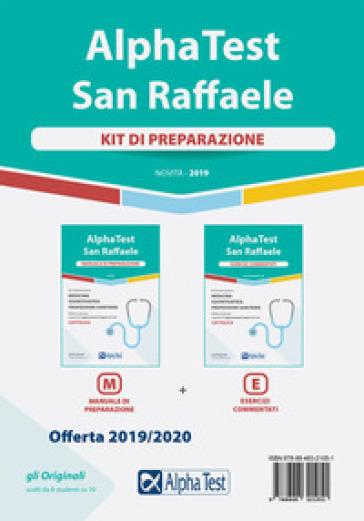 Alpha Test San Raffaele. Per l'ammissione a Medicina, Odontoiatria, Professioni sanitarie. Kit di preparazione: Manuale di preparazione-Esercizi commentati - Carlo Tabacchi |