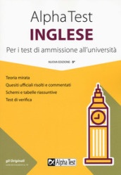 Alpha Test inglese. Per i test di ammissione all università