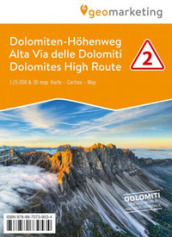 Cartina 3d Dolomiti.Alta Via Delle Dolomiti 2 Cartina Escursionistica 1 25 000 Con Panoramiche 3d Ediz Italiana Inglese E Tedesca Libro Mondadori Store