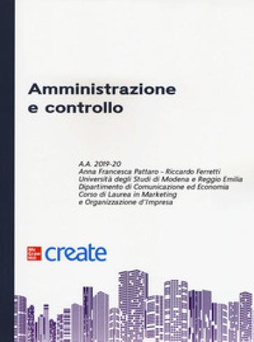 Amministrazione e controllo - Anna Francesca Pattaro pdf epub