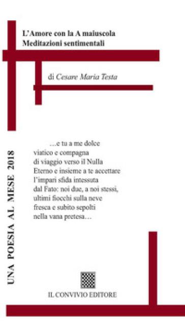 L'Amore con la A maiuscola. Meditazioni sentimentali - Cesare Maria Testa  