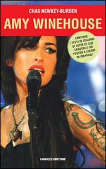 Amy Winehouse. Con poster