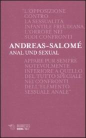 Anal und sexual. Ediz. italiana