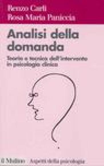 Analisi della domanda. Teoria e intervento in psicologia clinica - Renzo Carli | Rochesterscifianimecon.com
