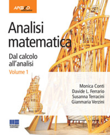 Analisi matematica. Dal calcolo all'analisi. 1.