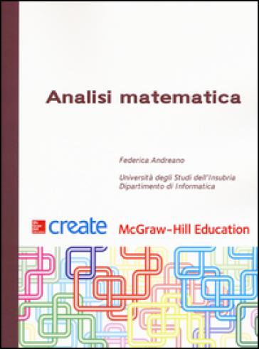 Analisi matematica - Federica Andreano |