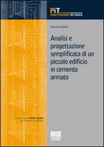 Analisi e progettazione semplificata di un piccolo edificio in cemento armato - Giancarlo Bobbo | Thecosgala.com