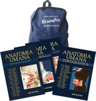 Anatomy bag: Trattato di anatomia umana-Anatomia umana topografica - Giuseppe Anastasi |