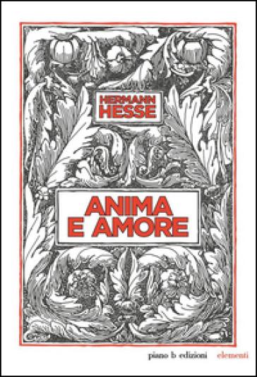 Anima e amore - Hermann Hesse |