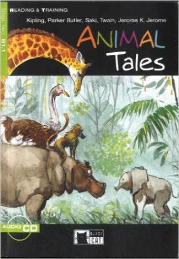 Animal tales. Con audiolibro. CD Audio