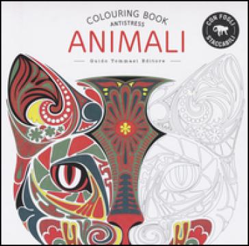 Animali. Colouring book antistress