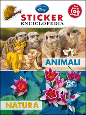 Animali, natura. Sticker enciclopedia