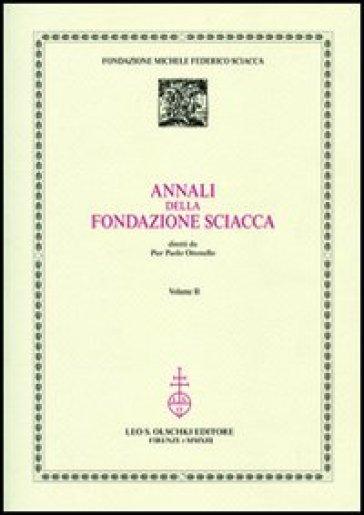 Annali della Fondazione Sciacca. 2.