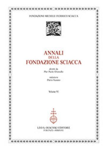 Annali della Fondazione Sciacca. 6.