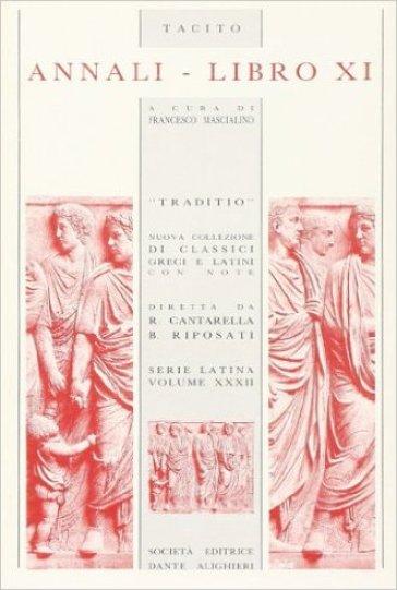 Annali. Libro 11º - Publio Cornelio Tacito  