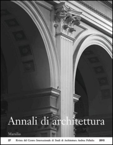 Annali di architettura (2015)