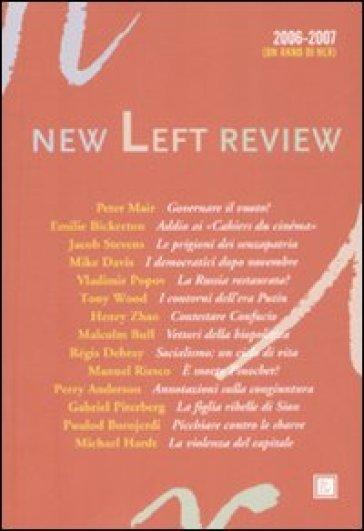 Anno di New Left Review 2006-2007 (Un) - G. Gallo |