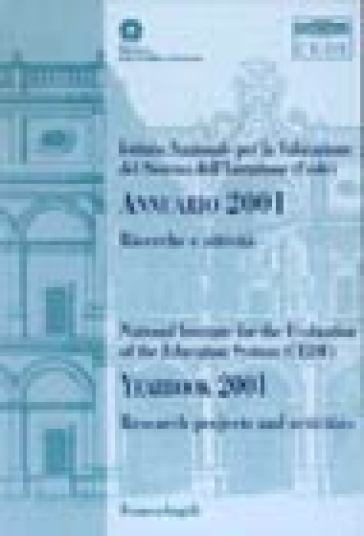 Annuario 2001-Yearbook 2001. Ricerche e attività-Research projects and activities
