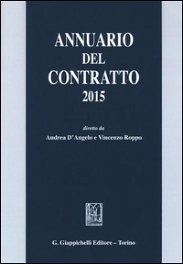 Annuario del contratto 2015 - A. D'Angelo | Rochesterscifianimecon.com