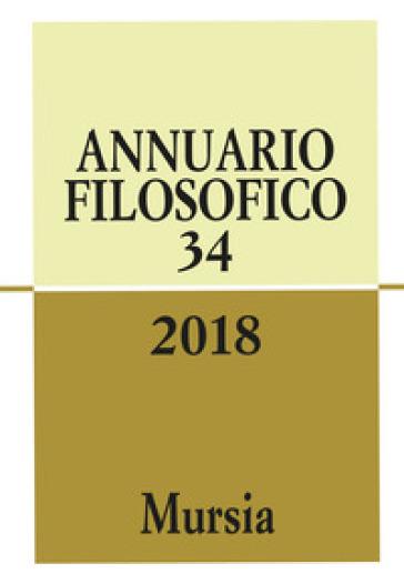 Annuario filosofico 2018. 34.