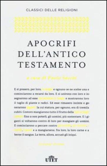 Apocrifi dell'Antico Testamento - P. Sacchi | Thecosgala.com