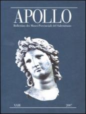 Apollo. Bollettino dei Musei provinciali del Salernitano. 23.