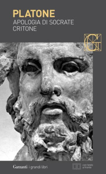 Apologia di Socrate-Critone. Testo greco a fronte - Platone |