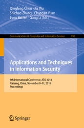 Applications and Techniques in Information Security