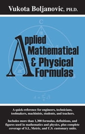 Applied Mathematical and Physical Formulas Pocket Reference