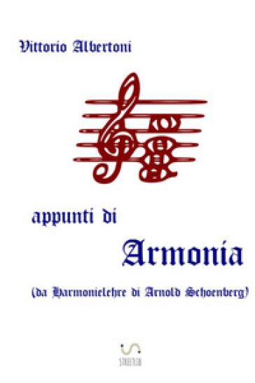 Appunti di armonia - Vittorio Albertoni  