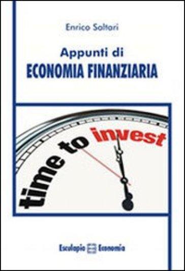 Appunti di economia finanziaria - Enrico Saltari | Ericsfund.org