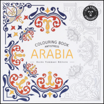 Arabia. Colouring book antistress