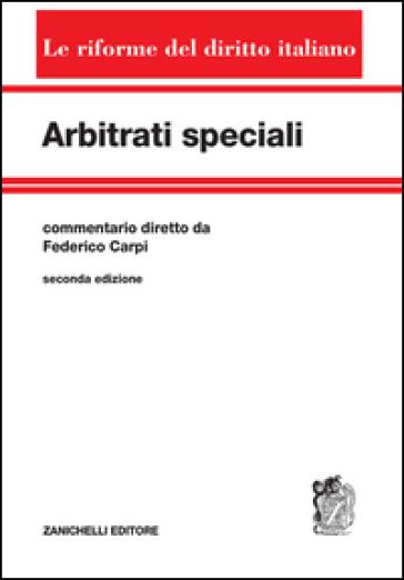 Arbitrati speciali