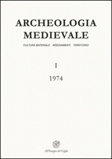 Archeologia medievale (1974). 1.
