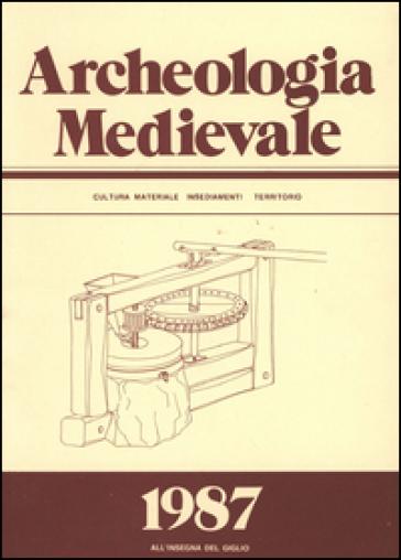 Archeologia medievale (1987). Ediz. multilingue. 14.