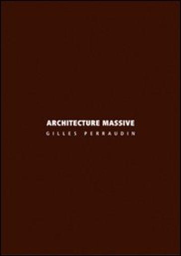 Architecture massive - Gilles Perraudin pdf epub