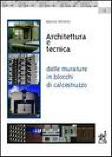 Architettura e tecnica delle murature in blocchi di calcestruzzo - Marco Ferrero pdf epub