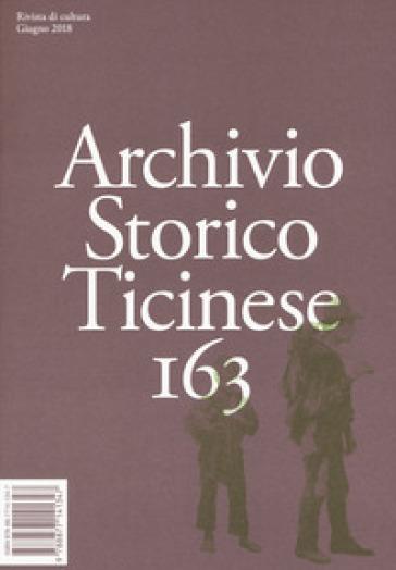 Archivio storico ticinese. 163.