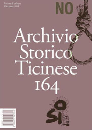 Archivio storico ticinese. 164.