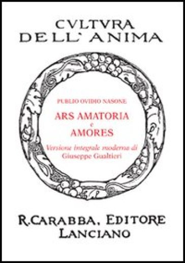 Ars amatoria-Amores - Publio Ovidio Nasone pdf epub