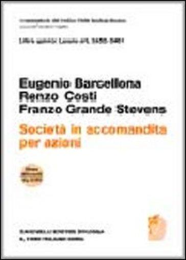 Art. 2452-2461. Società in accomandita per azioni - Eugenio Barcellona | Rochesterscifianimecon.com