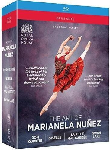 Art Of Marianela Nunez (The): Don Quixote/Giselle/La Fille Mal Gardee/Swan Lake
