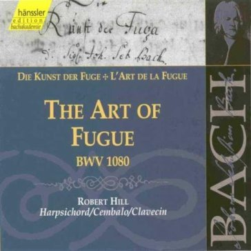 Art of fugue bwv 1080