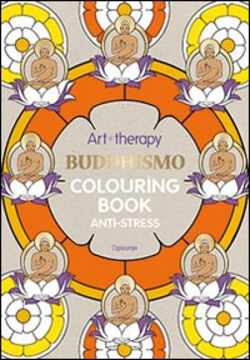 Art Therapy Buddhismo Colouring Book Anti Stress