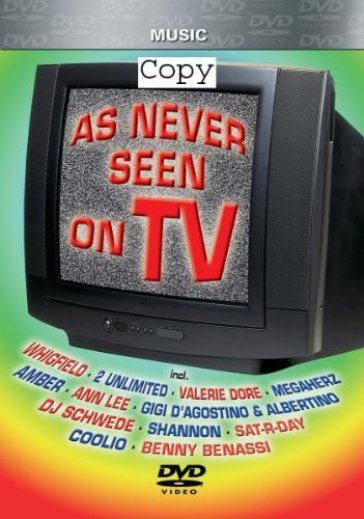 As never seen on tv