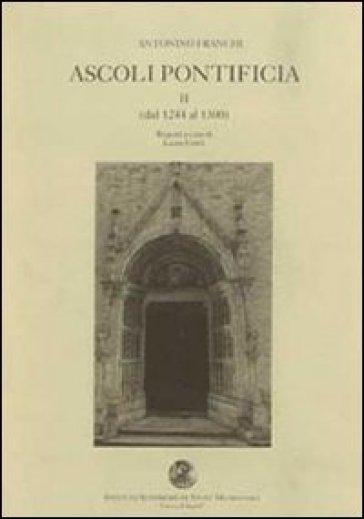 Ascoli pontificia - Antonino Franchi  