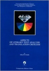 Aspects of literary text analysis and translation criticism