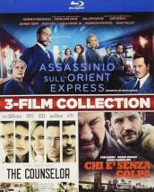 Assassinio Sull Orient Express / The Counselor / The Drop (3 Blu-Ray)